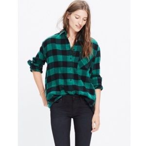 madewell buffalo check shirt